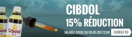 20% Réduction Cibdol